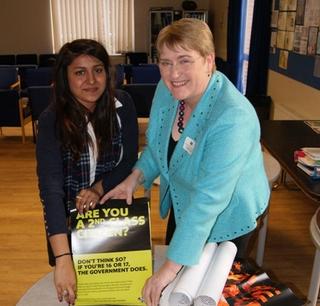 Votes at 16 at Watford Girls Grammar